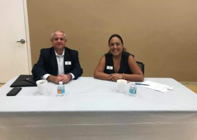 Attendees at Parkland Chamber of Commerce June 6th Breakfast