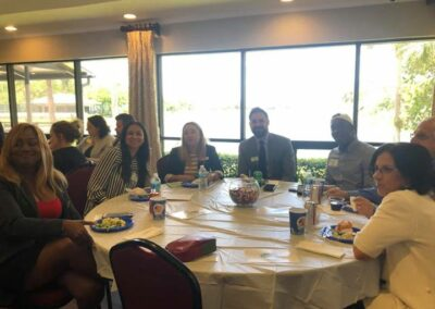 Lunch with Broward Sheriff Office April 24th 2019 (11)