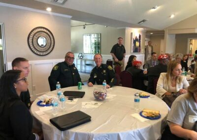 Lunch with Broward Sheriff Office April 24th 2019 (12)