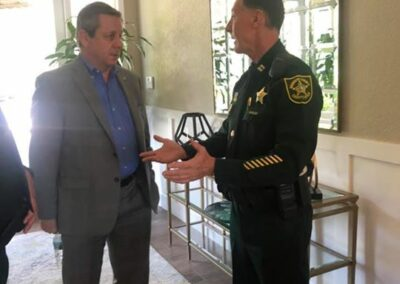 Lunch with Broward Sheriff Office April 24th 2019 (21)