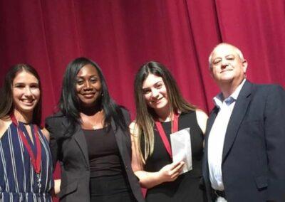 Parkland Chamber Deca Scholarship Winners 2019
