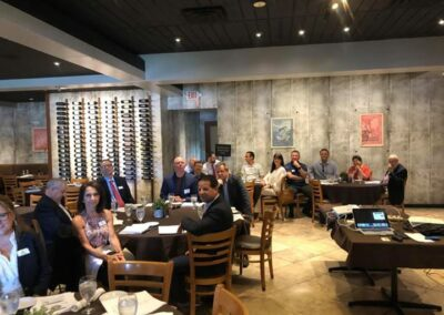 Attendees at the Parkland Chamber of Commerce May Trustee Luncheon
