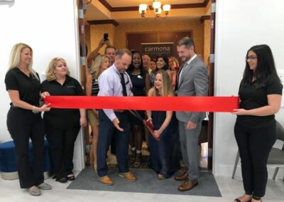 Parkland Chamber Ribbon Cutting for Carmona Smiles August 27 2019 (1)