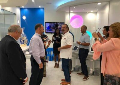 Parkland Chamber Ribbon Cutting for Carmona Smiles August 27 2019 (2)